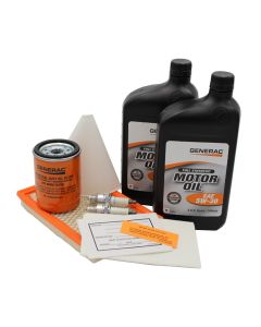 11KW Maintenance Kit (530cc Engine) Evolution Standby Unit w/ 5W30 Synthetic Oil (Post-Evolution)