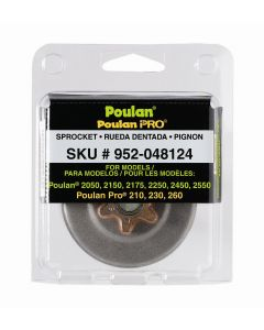 "Poulan / Poulan Pro Chainsaw 3/8"" Sprocket  952048124"